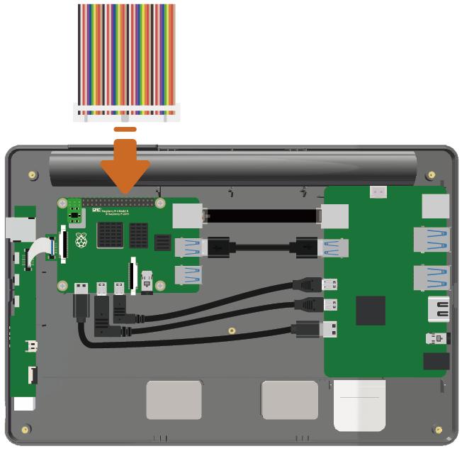 Câblage RasPad